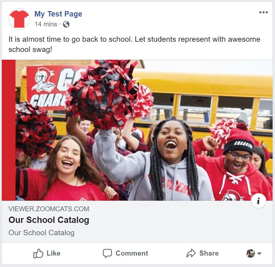 social media posts schools sanmar